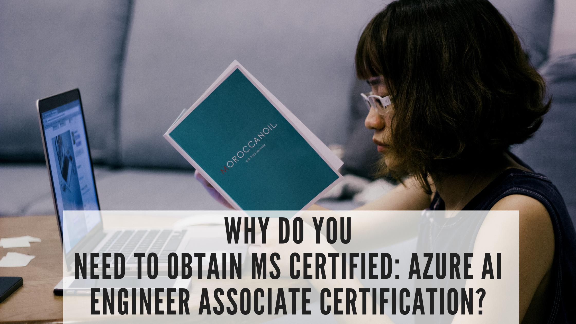 Azure AI Engineer Associate Certification
